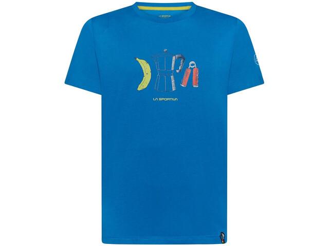 La Sportiva Breakfast T-Shirt Men neptune